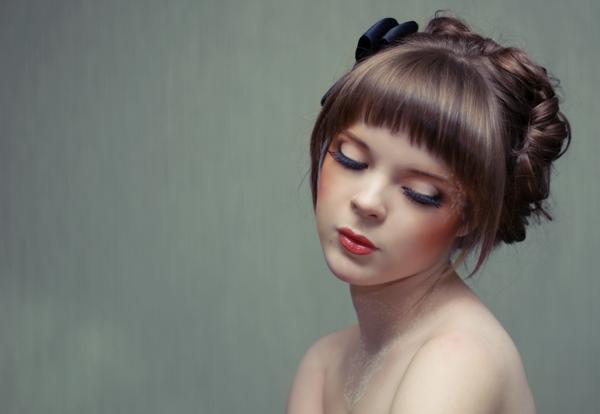 модель А.Арефьева, фото Р. Василевского, мейк мой